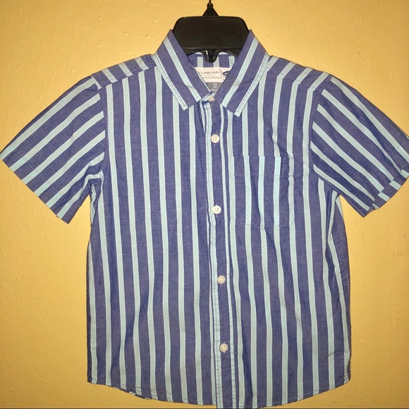 Old Navy Other - NWOT- Striped Boys Old Navy Classic Shirt